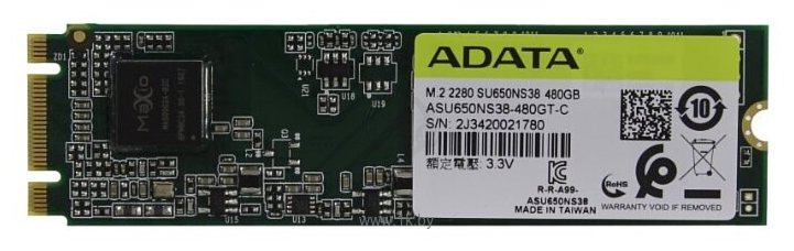 Фотографии ADATA ASU650NS38-480GT-C