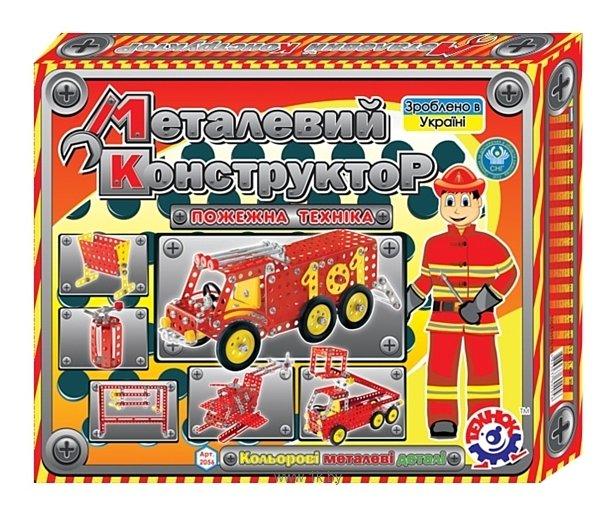 Фотографии ТехноК Металлический 2056 Пожарный транспорт