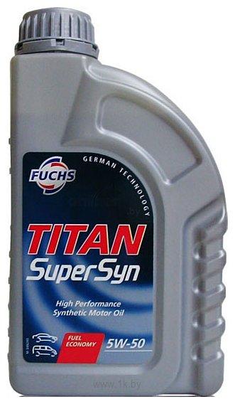 Фотографии Fuchs Titan Supersyn 5W-50 1л
