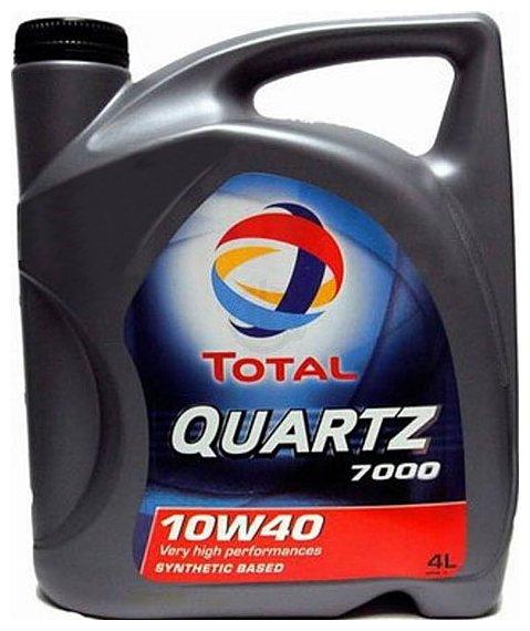 Фотографии Total Quartz 7000 10W-40 4Л