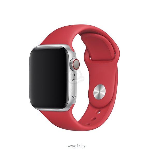 Фотографии Apple спортивный 40 мм (красный) MU9M2ZM