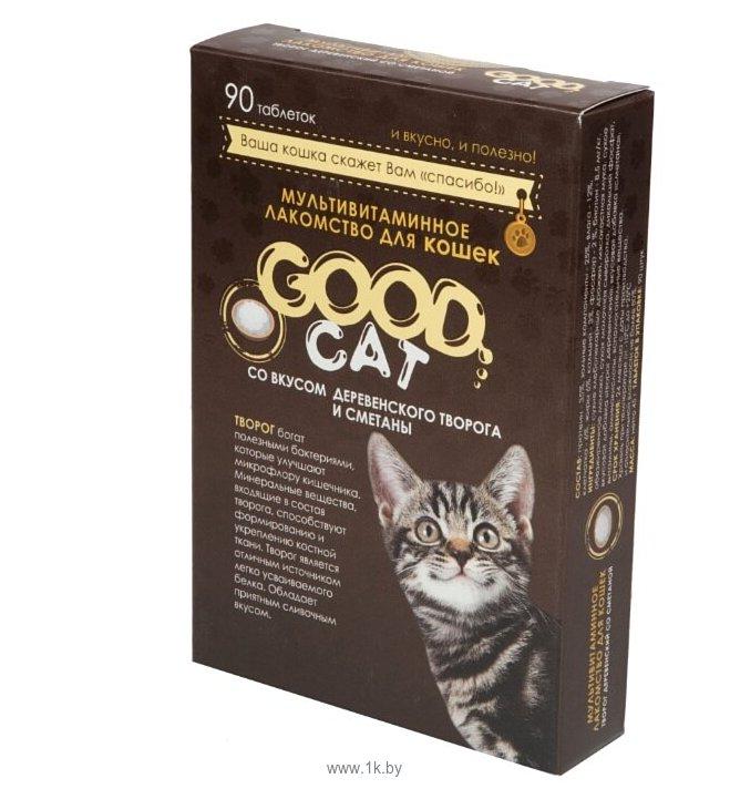 Фотографии GOOD Cat творог деревенский со сметаной