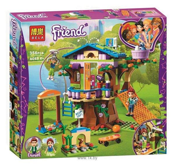 Фотографии BELA Friends 10854 Домик Мии на дереве