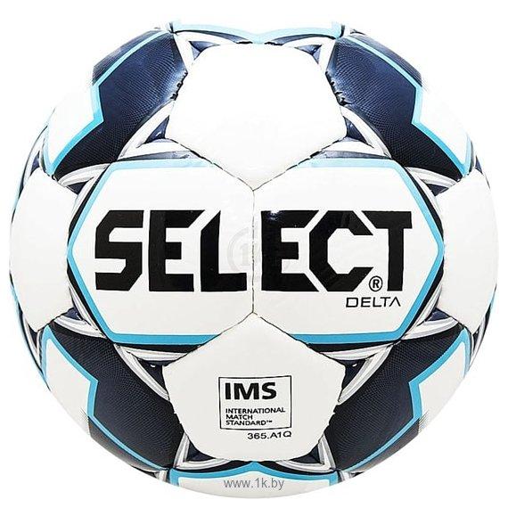 Фотографии Select Delta IMS (размер 5, белый/темно синий/голубой)