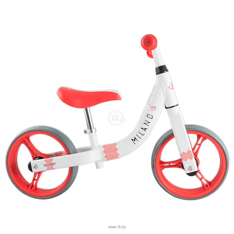 Фотографии Tech Team Milano 1.0 2019 (белый/красный)