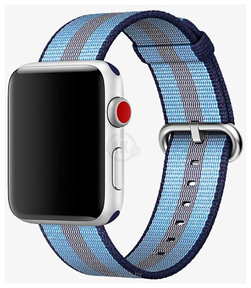 Фотографии Miru SN-02 для Apple Watch (синяя полоса)
