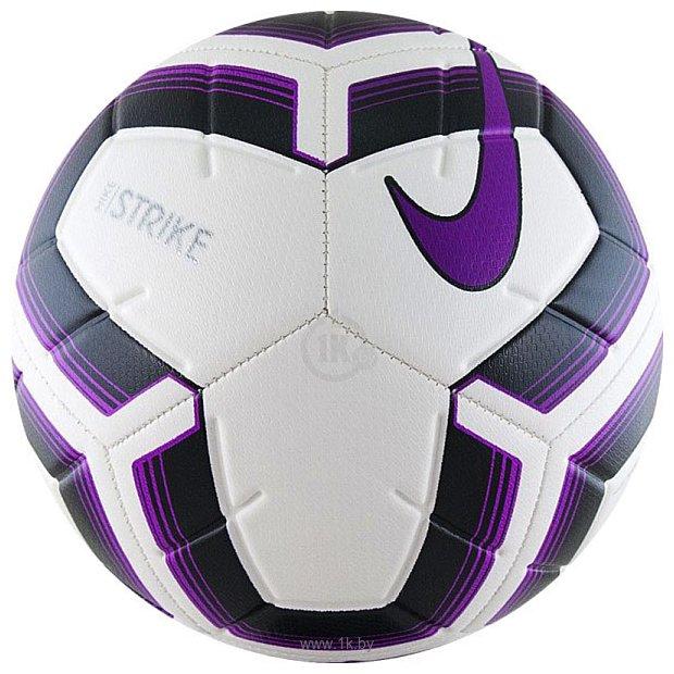 Фотографии Nike Strike Team SC3535-100 (4 размер, белый/фиолетовый/черный)
