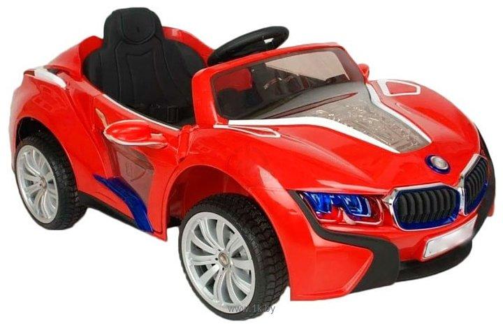 Фотографии RiverToys BMW I8 E008KX (красный)