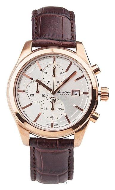 0. Мужские наручные швейцарские часы в коллекции Les Sportives Kolber K9026141752 Гарантия: 2 года от