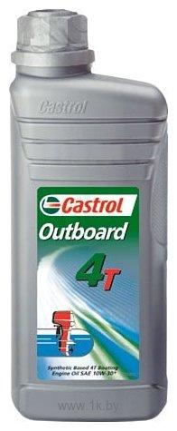 Фотографии Castrol Outboard 4T 10W-30 API SJ/CF 1л