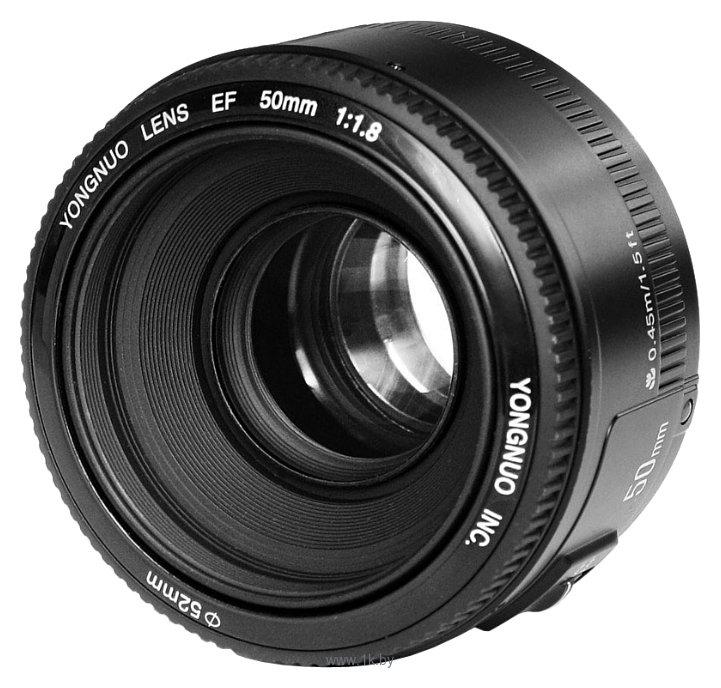 Фотографии YongNuo AF 50mm f/1.8 Canon EF