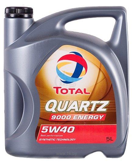 Фотографии Total Quartz 9000 Energy 5W-40 5л