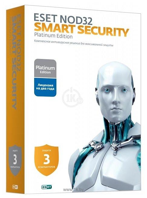 Фотографии NOD32 Smart Security (3 ПК, 2 года) продление лицензии