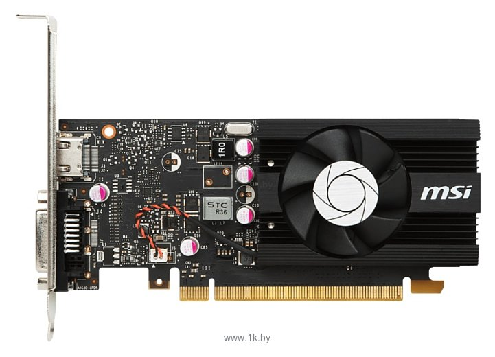 Фотографии MSI GeForce GT 1030 1265Mhz PCI-E 3.0 2048Mb 6008Mhz 64 bit DVI HDMI HDCP LP OCV1