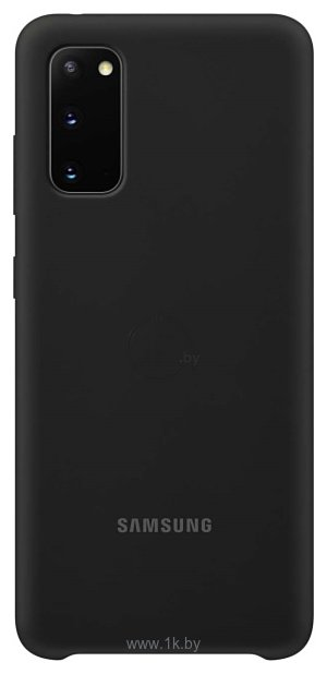 Фотографии Samsung Silicone Cover для Galaxy S20 (черный)