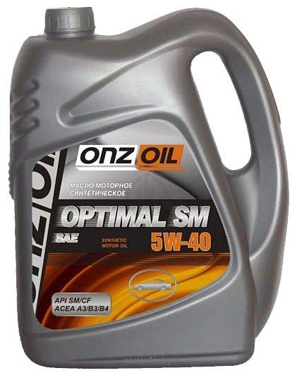 Фотографии ONZOIL Optimal SM 5W-40 5л