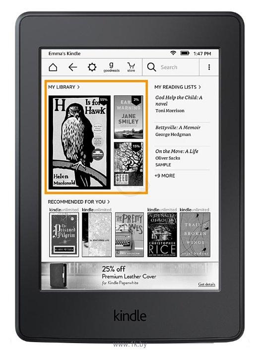 Фотографии Amazon Kindle 8