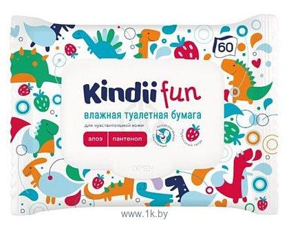 Фотографии Kindii для чувствительной детской кожи, 60 шт