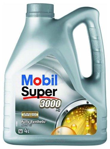 Фотографии Mobil 5W-40 Super 3000 X1 4л