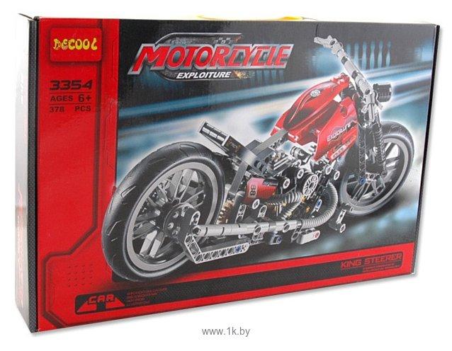 Фотографии DECOOL Мотоцикл Королевский рулевой 3354