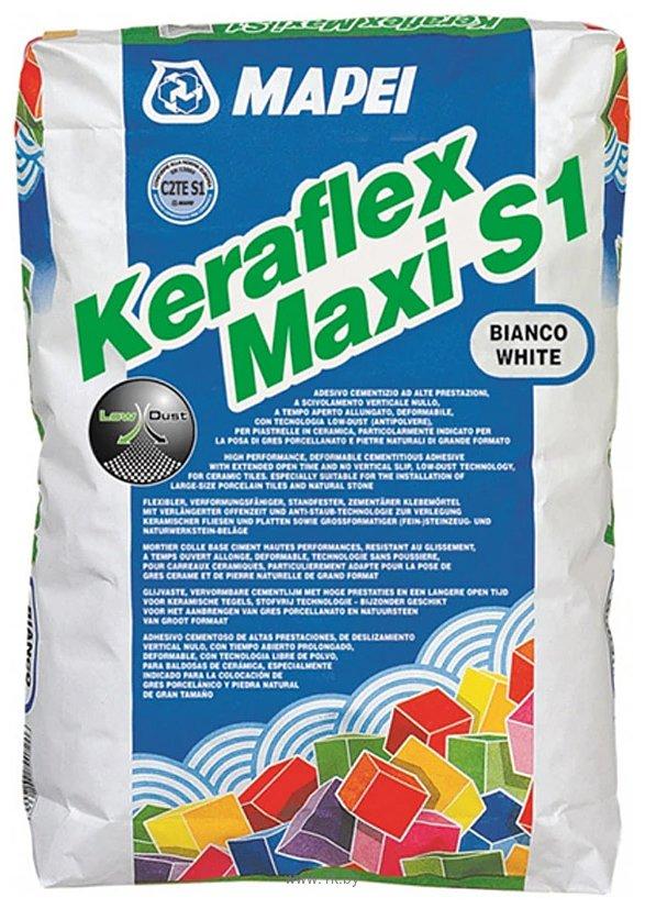 Фотографии Mapei Keraflex Maxi S1 (25 кг, белый)