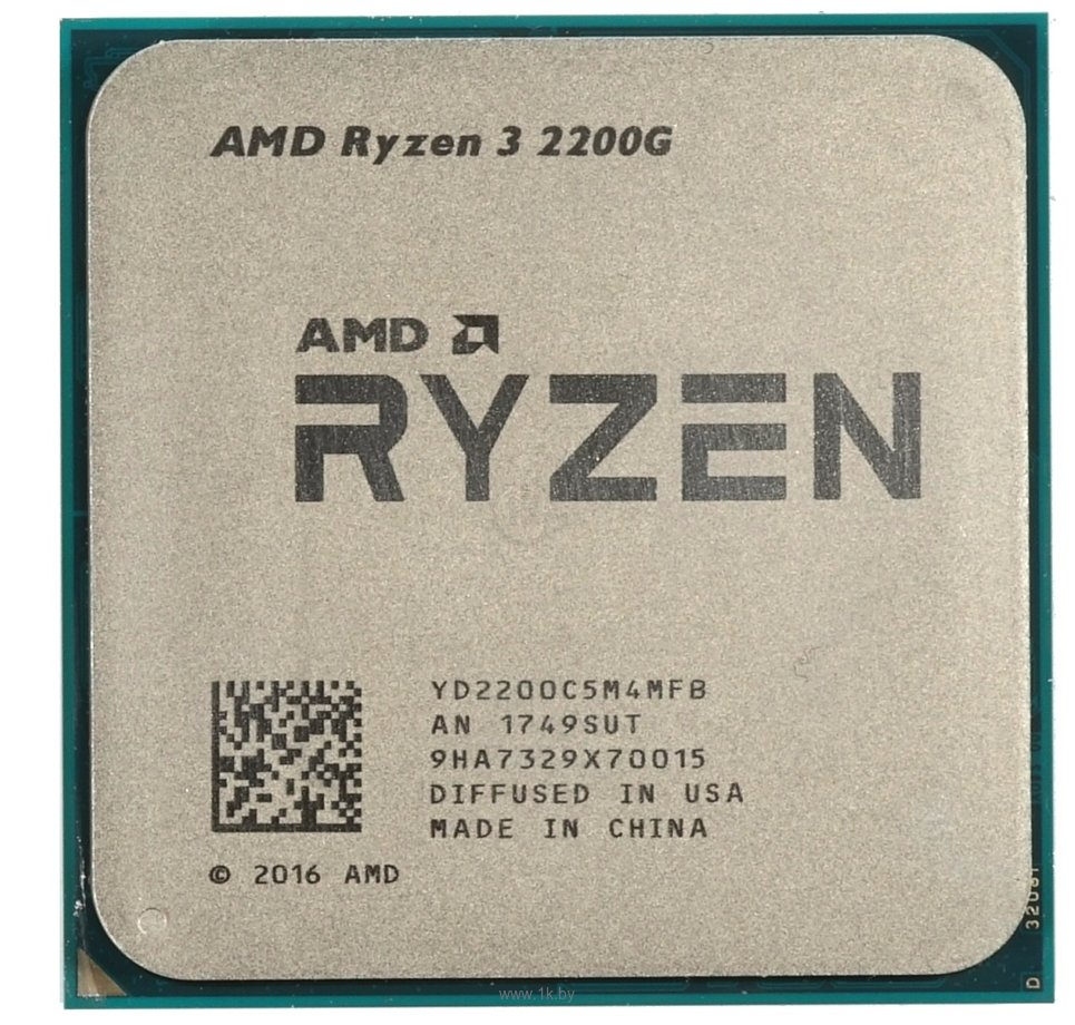 Фотографии AMD Ryzen 3 2200G Raven Ridge (AM4, L3 4096Kb)