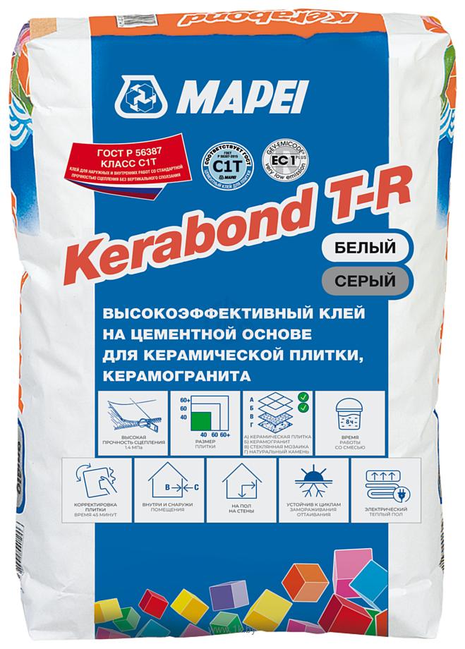 Фотографии Mapei Kerabond T-R (25 кг, белый)