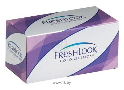 Фотографии Ciba Vision FreshLook ColorBlends (от -1,0 до -8,0) 8.6mm