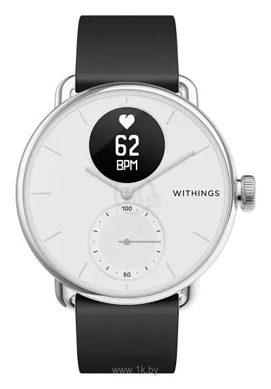 Фотографии Withings ScanWatch 38mm with silicone band