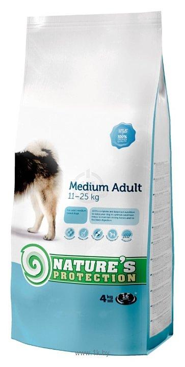 Фотографии Nature's Protection Medium Adult (18 кг)
