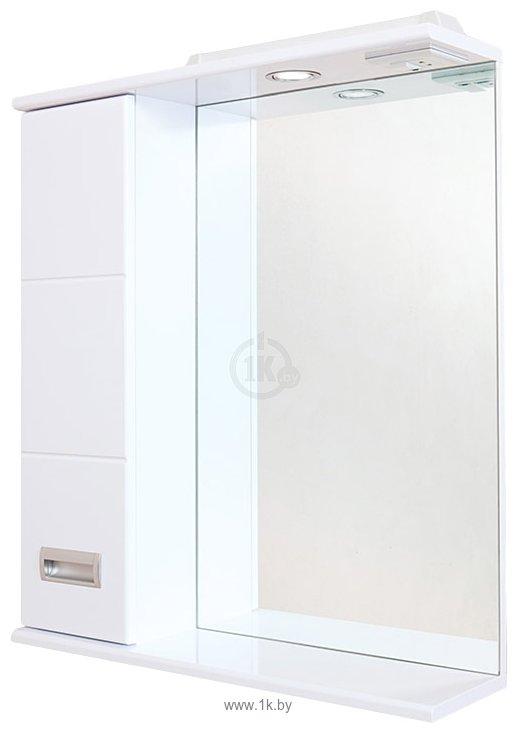 Фотографии Onika Шкаф с зеркалом Балтика 58.01 левый (белый) (205816)