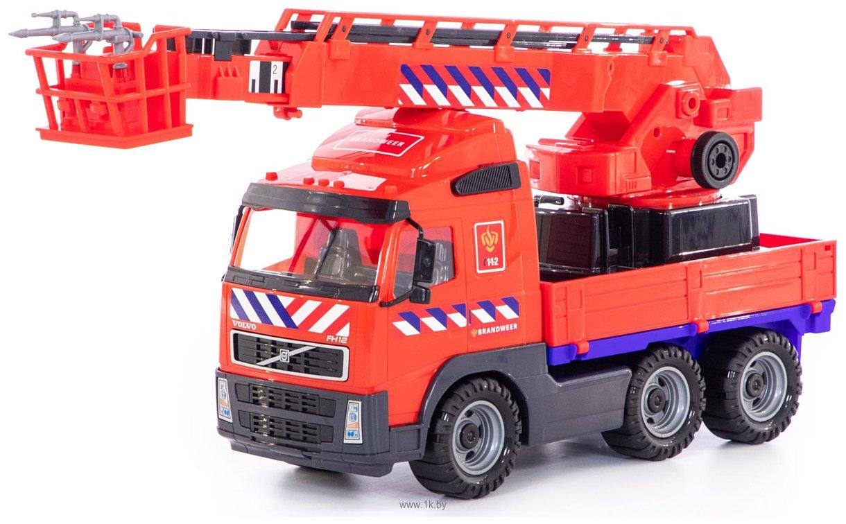 Фотографии Полесье Volvo автомобиль пожарный 77301