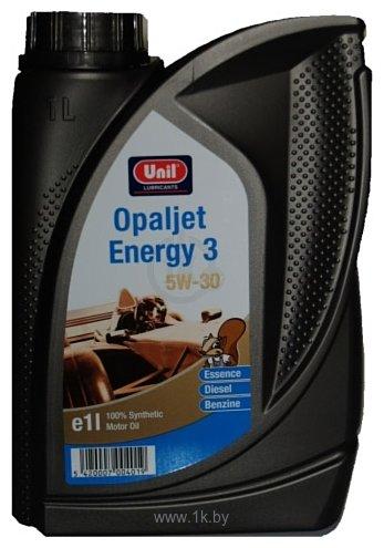Фотографии Unil Opaljet energy 3 5W-30 1л