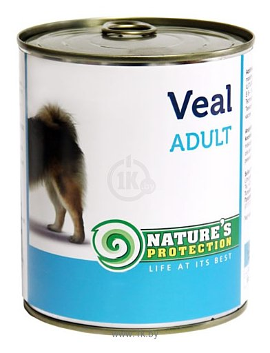 Фотографии Nature's Protection Консервы Dog Adult Veal (0.8 кг) 1 шт.