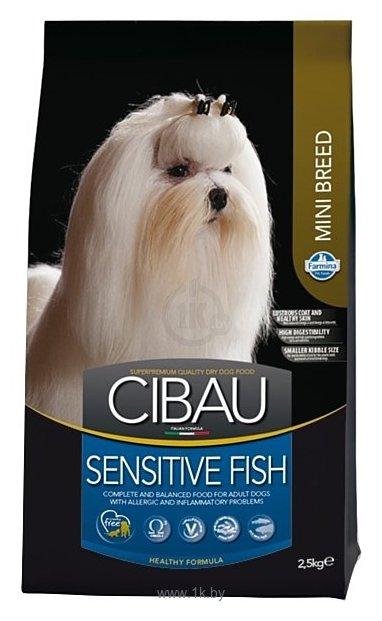 Фотографии Farmina Cibau Sensitive Fish Mini (2.5 кг)