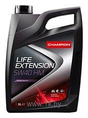 Фотографии Champion Life Extension HM 5W-40 5л