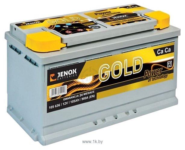 Фотографии Jenox Gold 105 636 (105Ah)