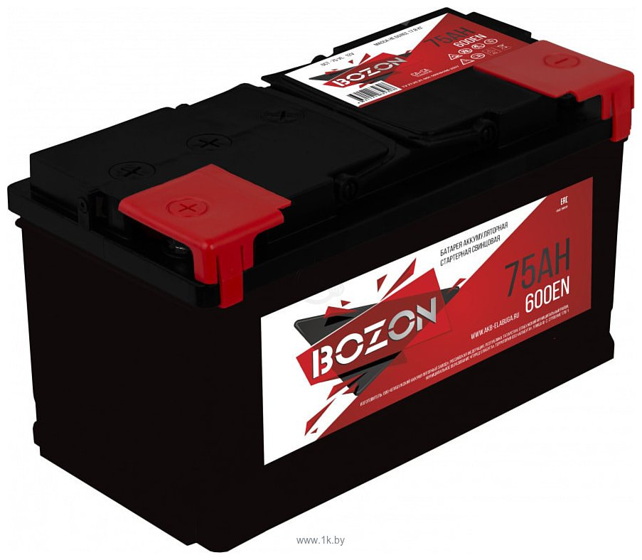 Фотографии BOZON 6СТ-75 (75Ah)