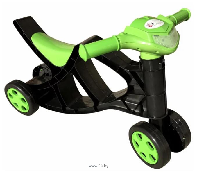 Фотографии Doloni-Toys Минибайк (черный/зеленый)