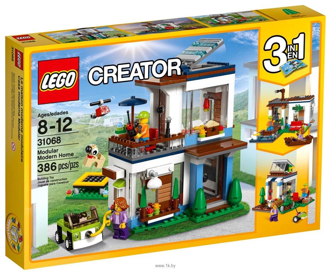 Фотографии LEGO Creator 31068 Современный дом