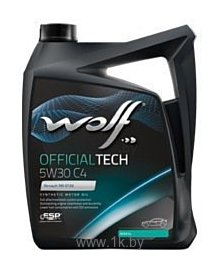 Фотографии Wolf Official Tech 5W-30 C4 5л