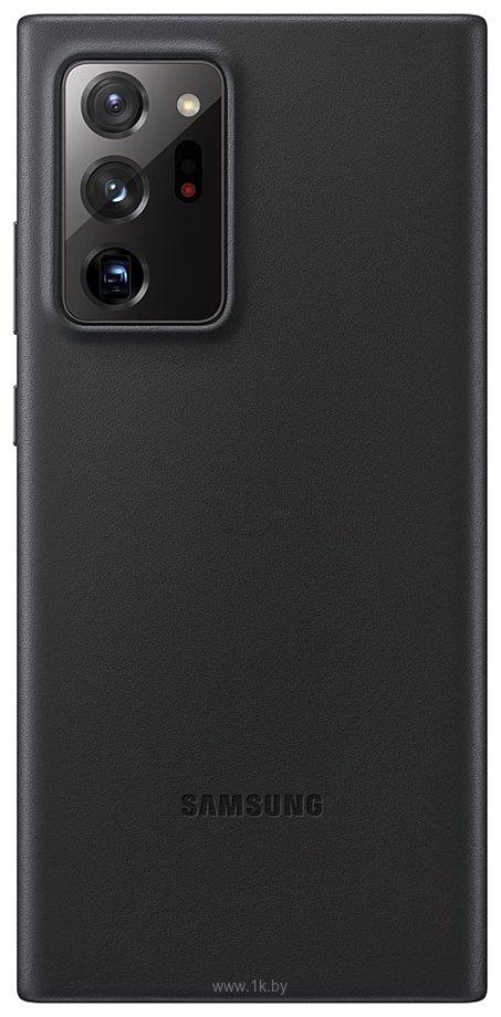 Фотографии Samsung Leather Cover для Galaxy Note 20 Ultra (черный)