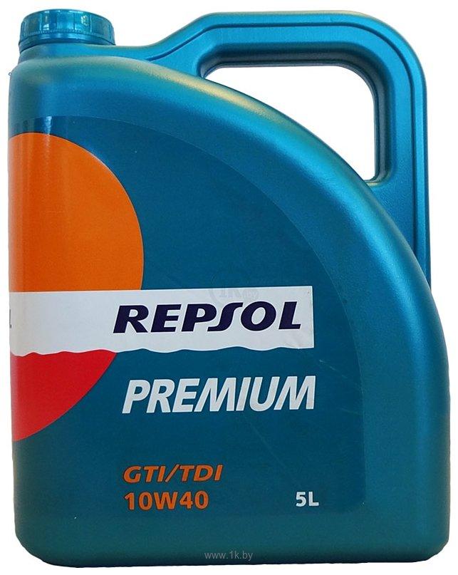 Фотографии Repsol Premium GTI/TDI 10W-40 5л
