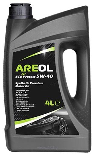 Фотографии Areol Eco Protect 5W-40 4л