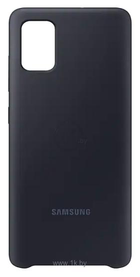 Фотографии Samsung Silicone Cover для Samsung Galaxy A51 (черный)