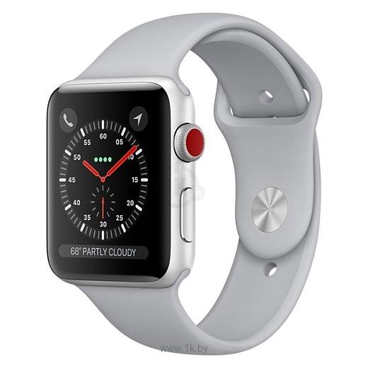 Фотографии Apple Watch Series 3 Cellular 42mm Aluminum Case with Sport Band