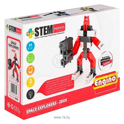 Фотографии ENGINO STEM Heroes SH22 Покорители Космоса - Зевс