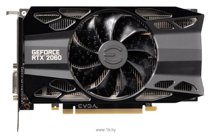Фотографии EVGA GeForce RTX 2060 1755MHz PCI-E 3.0 6144MB 14000MHz 192 bit DVI HDMI HDCP XC GAMING