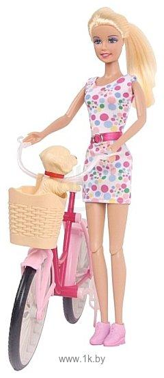 Фотографии Defa Lucy на велосипеде 8276