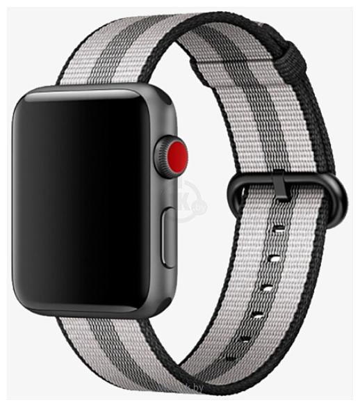 Фотографии Miru SN-02 для Apple Watch (черная полоса)